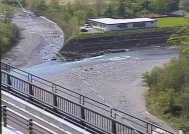 県道25号・球磨川水系 川辺川 ライブカメラと雨雲レーダー/熊本県五木村