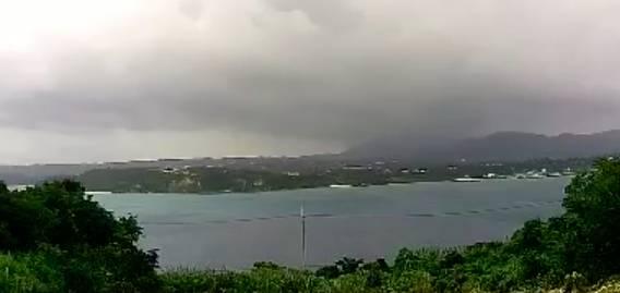 沖縄県今帰仁村 古宇利島から見える本島・今帰仁村運天港ライブカメラと雨雲レーダー