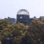 原爆ドームと国道183号が見える中国エネルギーフォーラムライブカメラ