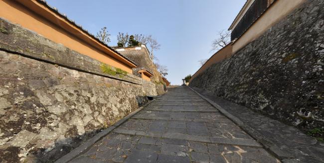 酢屋の坂360度パノラマカメラ