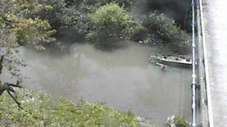 三種川ライブカメラと雨雲レーダー/秋田県三種町