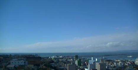釧路展望レストラン「まいづる」からの眺めライブカメラと雨雲レーダー/北海道釧路市