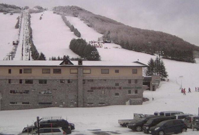 志賀高原の高天ヶ原スキー場ライブカメラ