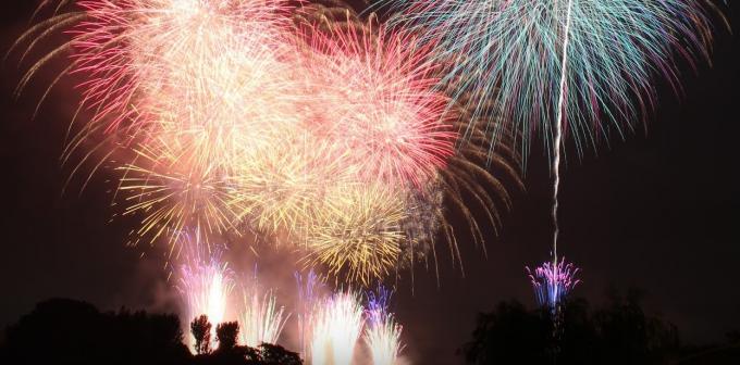 茨城県水戸市 第58回水戸黄門まつり花火大会ライブカメラと雨雲レーダー