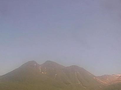 九重連山の三俣山や硫黄山方面ライブカメラ