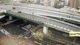 阪神高速道路東大阪線ライブカメラと雨雲レーダー/大阪府東大阪市