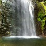 百尋の滝の360度パノラマカメラ