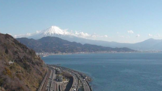 薩埵峠・広重の富士山ライブカメラと雨雲レーダー/静岡県静岡市