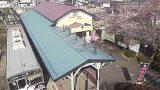 別所温泉駅ライブカメラと雨雲レーダー/長野県上田市