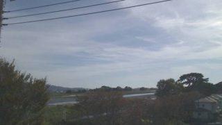酒匂川ライブカメラ(報徳橋付近)と雨雲レーダー/神奈川県小田原市