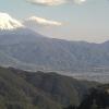 甲府盆地と富士山ライブカメラ