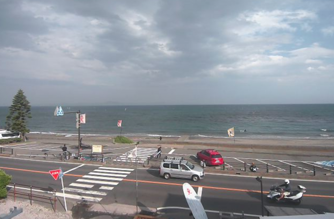 津久井浜海水浴場ライブカメラと雨雲レーダー/神奈川県横須賀市