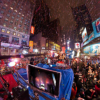 New Year's Eve Midnight 2010 の360度パノラマカメラ