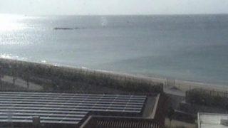 平良海岸ライブカメラと雨雲レーダー/沖縄県東村