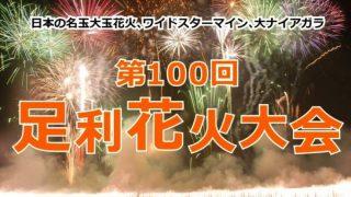2014年・第100回足利花火大会ライブカメラと雨雲レーダー/栃木県足利市