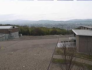 停止中:京都大学 桂キャンパスライブカメラと雨雲レーダー/京都府京都市