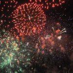 """2016年7月31日""""おやまサマーフェスティバル2016 """" の第65回小山の花火ライブカメラ"""