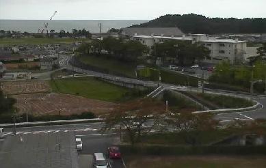 広野町役場ライブカメラと雨雲レーダー/福島県広野町