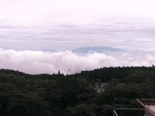 天城東急リゾートの富士山ライブカメラと雨雲レーダー/静岡県伊豆市