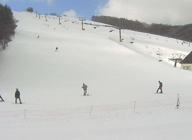 菅平高原ハーレスキーリゾートのゲレンデライブカメラ