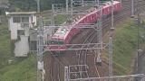 愛知県清須市 名古屋鉄道(名鉄)ライブカメラ2と雨雲レーダー