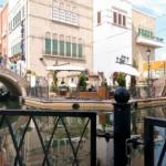 名古屋港イタリア村 ゴンドラが行き交う運河の360度パノラマカメラ
