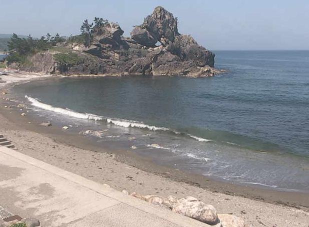 曽々木海岸 窓岩ライブカメラ