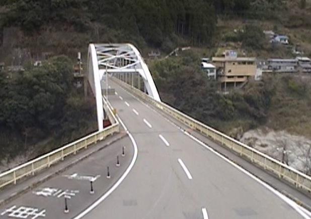 大歩危橋ライブカメラと雨雲レーダー/徳島県三好市