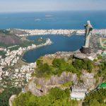 コルコバードの丘のキリスト像やリオデジャネイロの街が上空から見れるストリートビュー