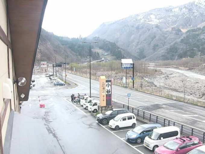 長野県小谷村 道の駅おたりライブカメラと雨雲レーダー