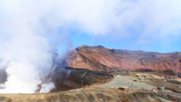 阿蘇山火口360度パノラマカメラ