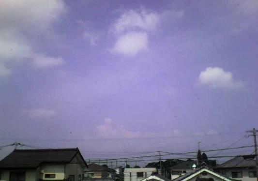 菖蒲原町の街と空ライブカメラと雨雲レーダー/宮崎県都城市