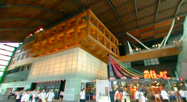 九州国立博物館の360度パノラマカメラ