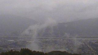 美村が丘ライブカメラと雨雲レーダー/徳島県美馬市