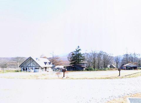 戸隠キャンプ場の360度パノラマカメラ2