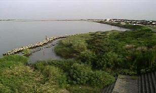 阿賀野川など松浜橋周辺ライブカメラと雨雲レーダー/新潟県新潟市