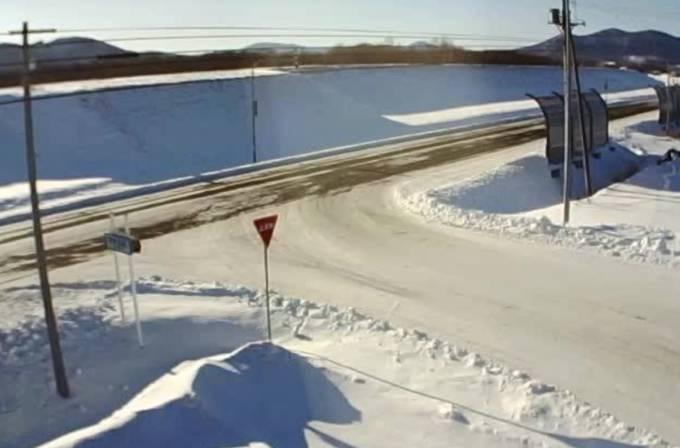 道道北見常呂線(道道7号線)ライブカメラと雨雲レーダー/北海道北見市