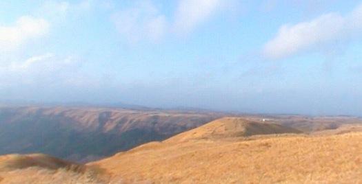 大観峰(だいかんぼう)の360度パノラマカメラ