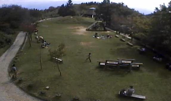 金剛山ちはや園地ライブカメラ(Ustream)と雨雲レーダー/大阪府千早赤阪村