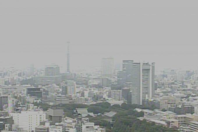 東京都千代田区 千代田区全域ライブカメラ(2ヶ所)と雨雲レーダー