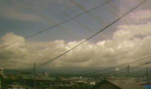 富士山ライブカメラ3と雨雲レーダー/静岡県富士宮市