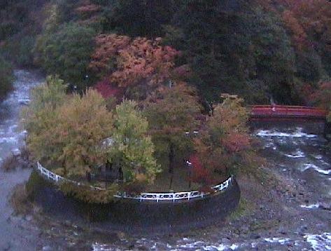 停止中:中野もみじ山 ライブカメラと雨雲レーダー/青森県黒石市