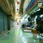 コザ銀天街の360度パノラマカメラ