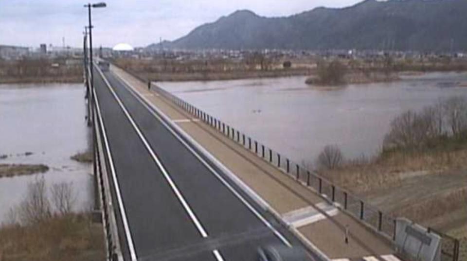 国道9号ライブカメラと雨雲レーダー/島根県