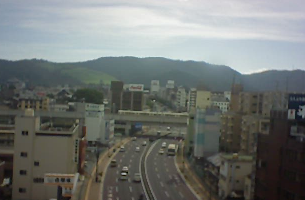 奈良県奈良市 奈良大宮通り油坂附近がみえるライブカメラと雨雲レーダー