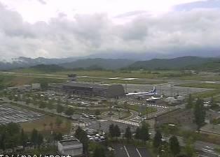 コウノトリ但馬空港 ライブカメラと雨雲レーダー/兵庫県豊岡市