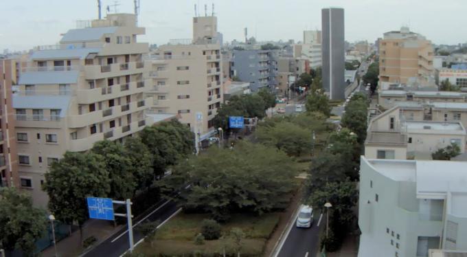 東京都杉並区 都道311号・環八通りライブカメラと雨雲レーダー