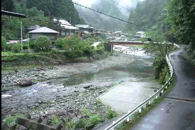 小橡川ライブカメラと雨雲レーダー/奈良県上北山村