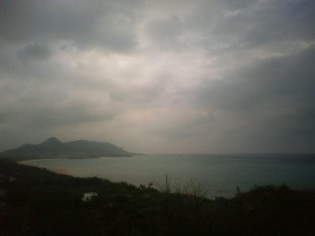 玉取崎ライブカメラと雨雲レーダー/沖縄県石垣市