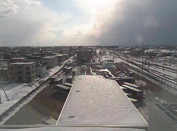 岩見沢駅や岩見沢市の街ライブカメラ